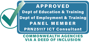 Approved              DEEWR PRN25117 ICT Consultancy Panel Member. All Commonwealth Agencies Welcome via a Deed of Inclusion.